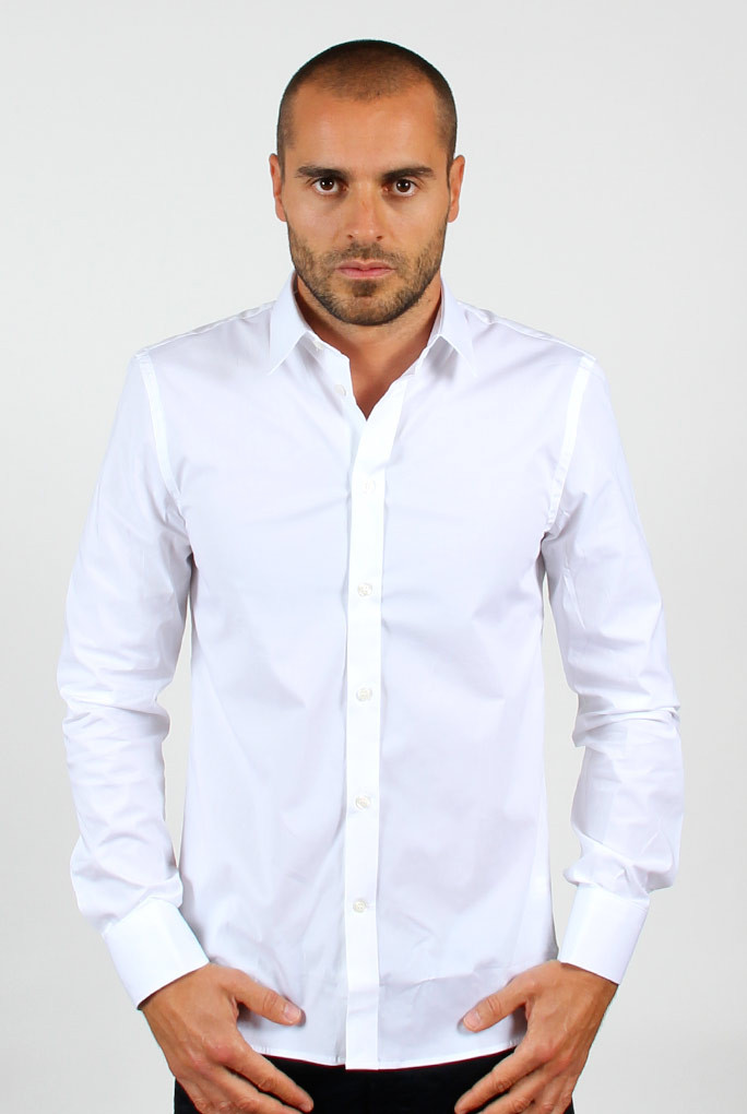 CHEMISE FILIPPA K BLANCHE M.PAUL STRETCH SHIRT