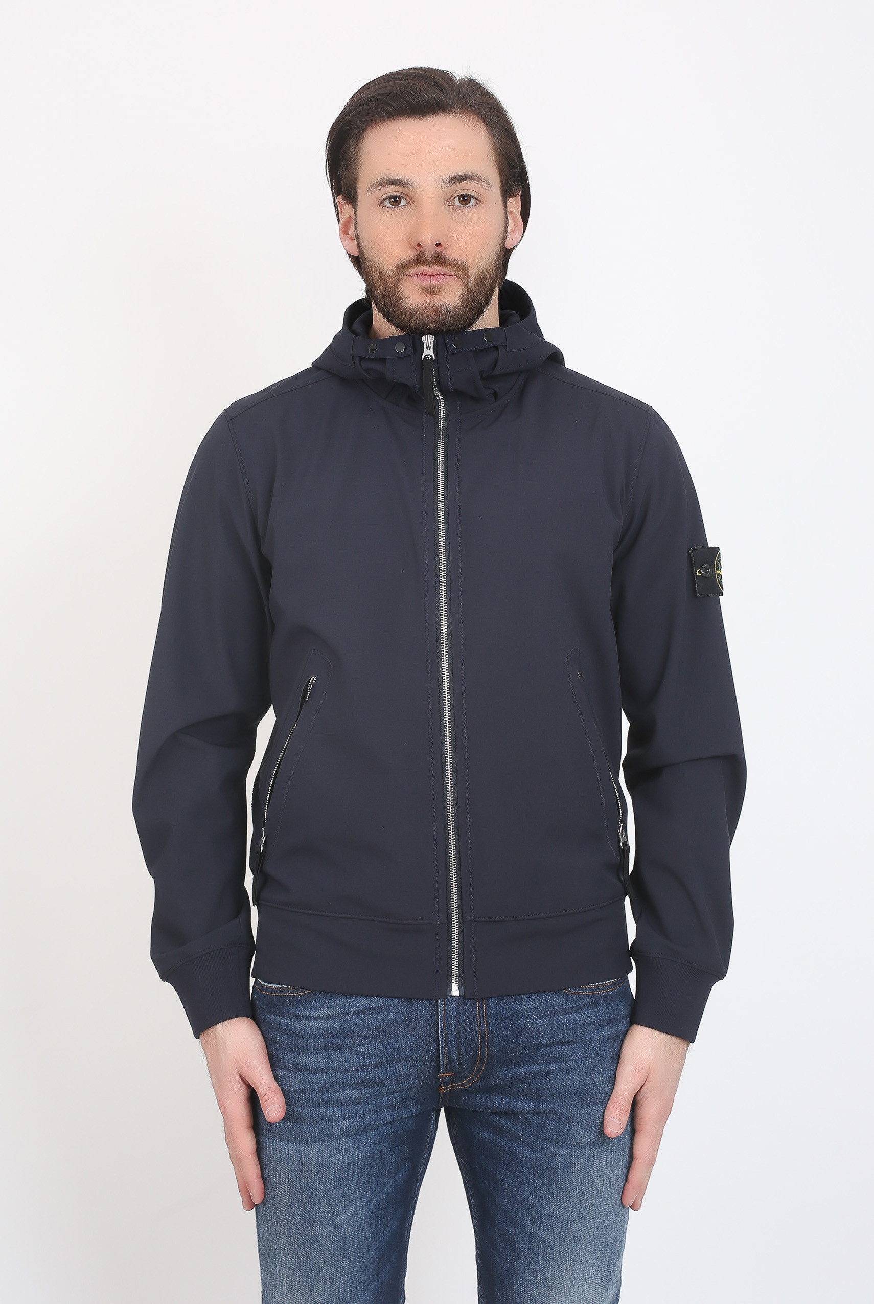 BLOUSON STONE ISLAND LIGHT SOFT SHELL-R MARINE 681540827-V0020