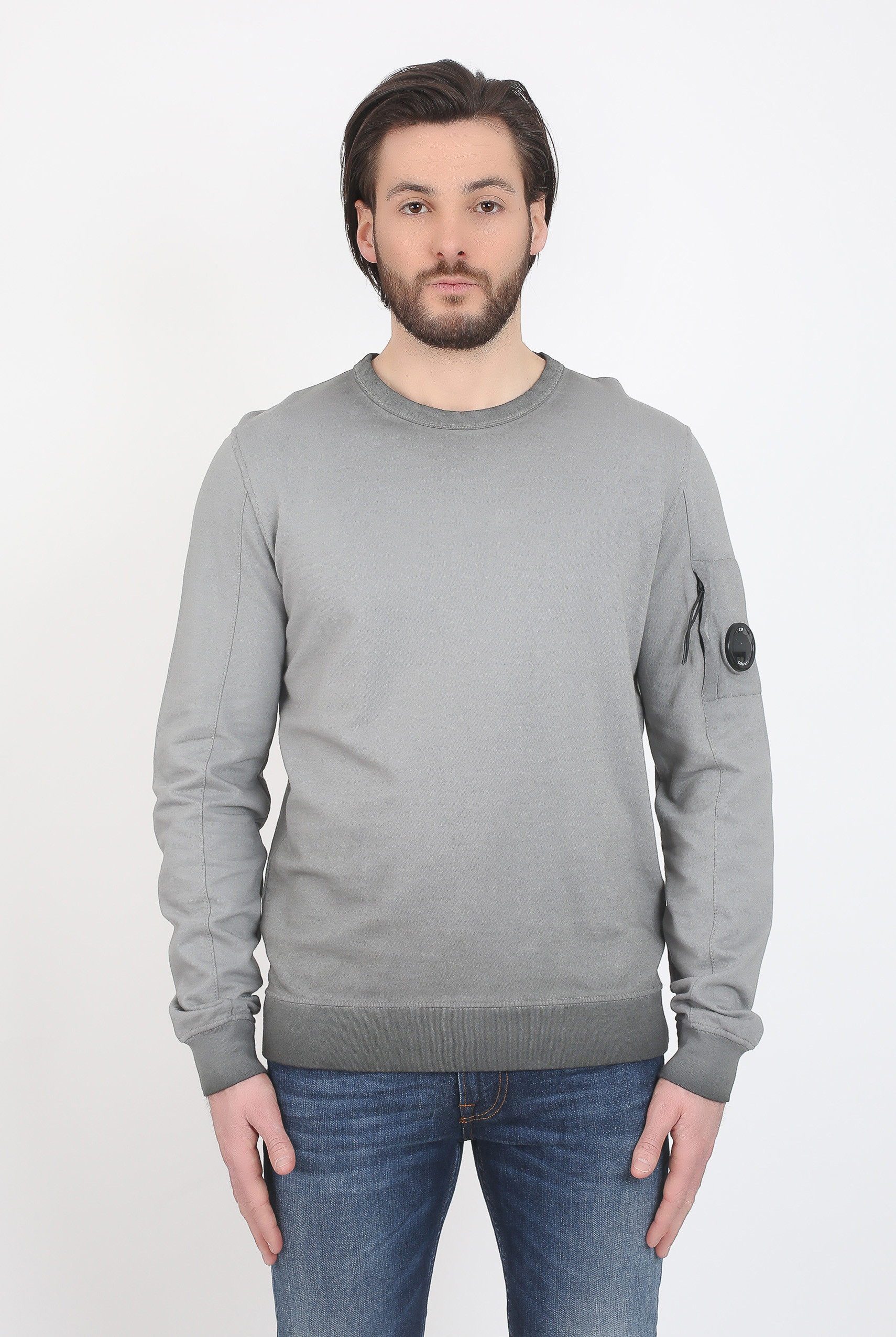SWEAT SHIRT CP COMPANY GRIS SO55A 5219S-968