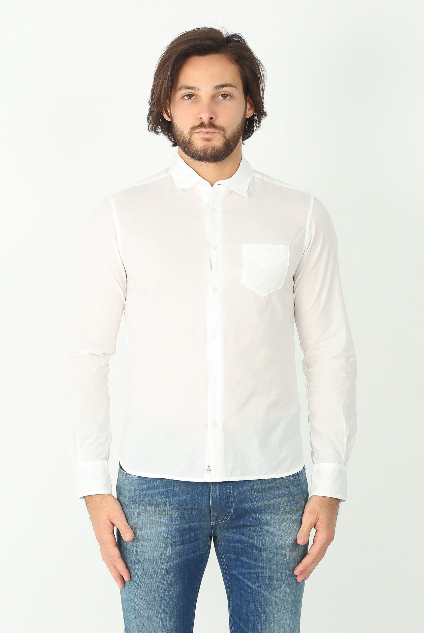 CHEMISE C.P. COMPANY BLANCHE H210A 4045G-112