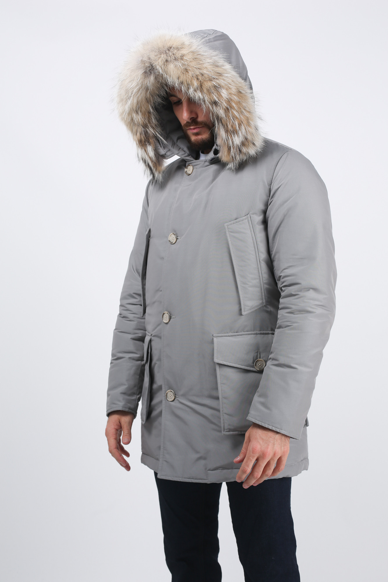 Wocps1674 Parka Grise Grise Woolrich Parka Wocps1674 Woolrich Sgy tOdqnwC
