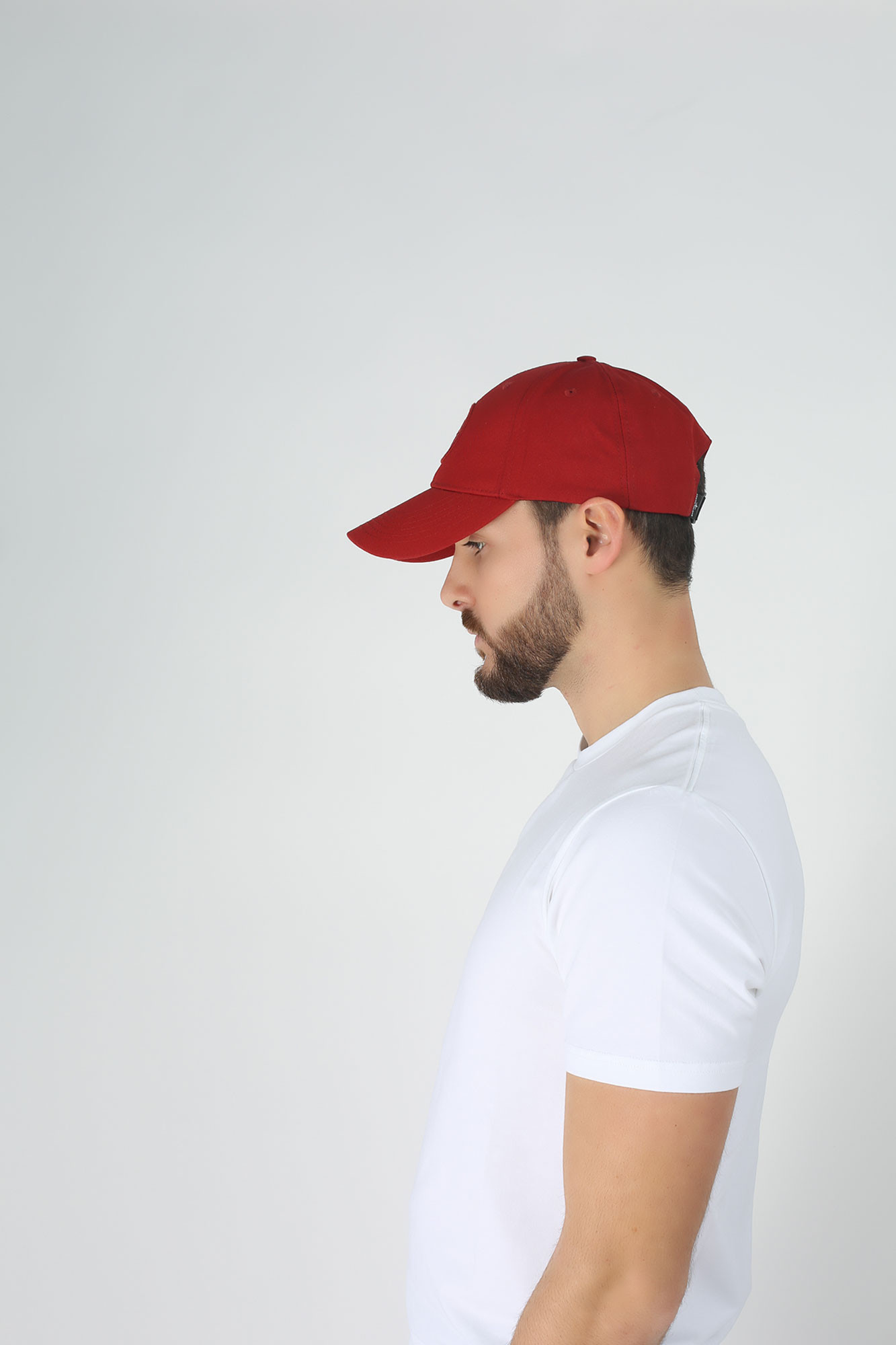 CASQUETTE STONE ISLAND ROUGE 701599168-V0015