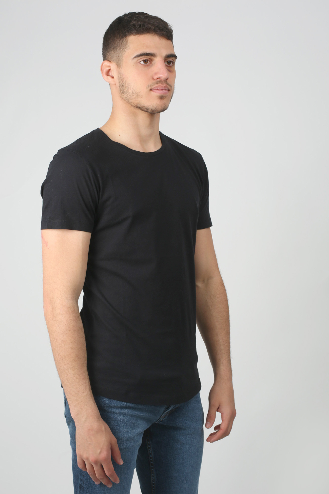 T-SHIRT ORLEBAR BROWN NOIR OBT-BLACK
