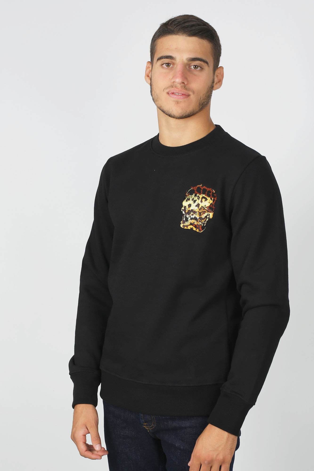 SWEAT-SHIRT PAUL SMITH NOIR 027RE-AP1545-79