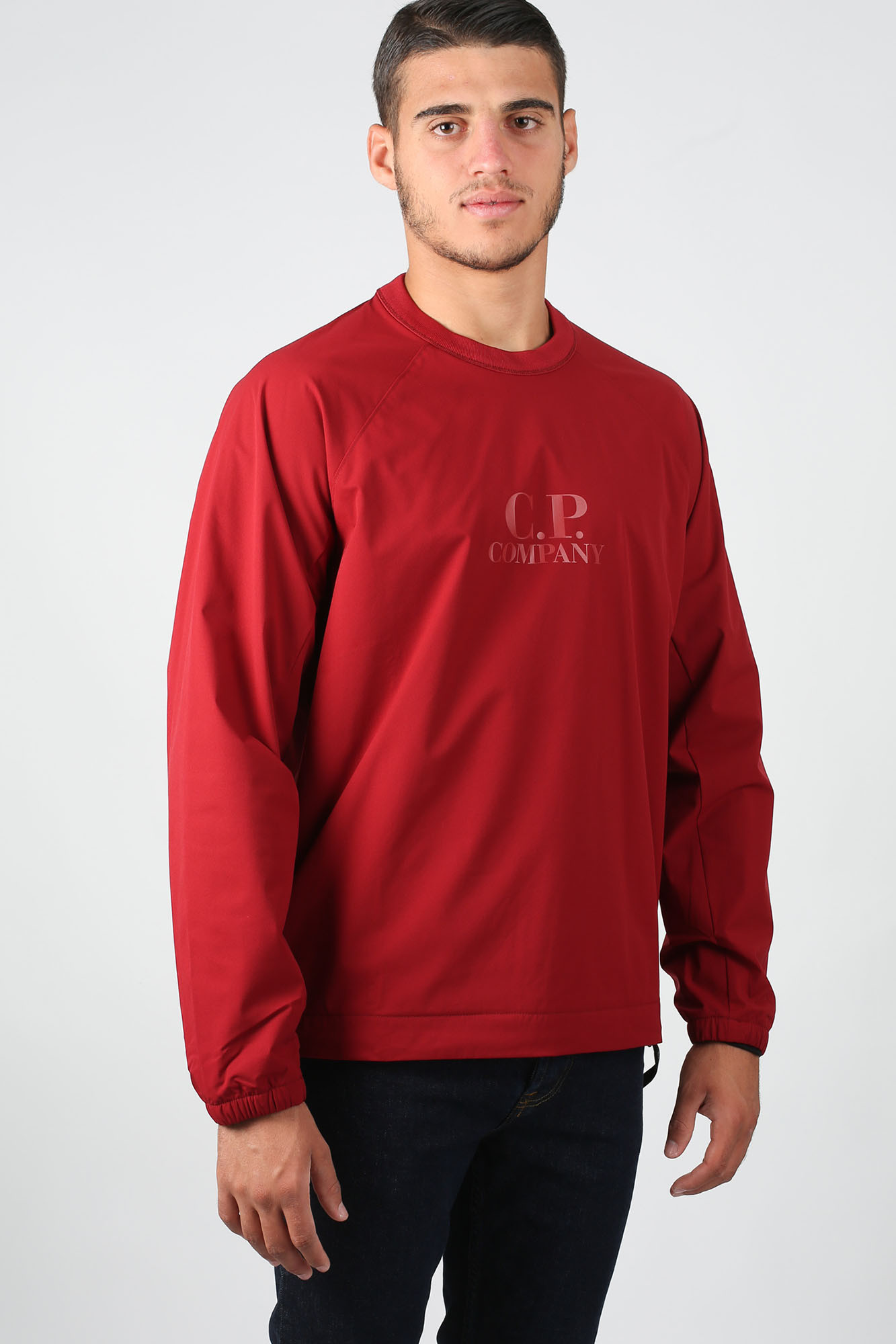 SWEAT-SHIRT C.P. COMPANY ROUGE S025A4117A-576