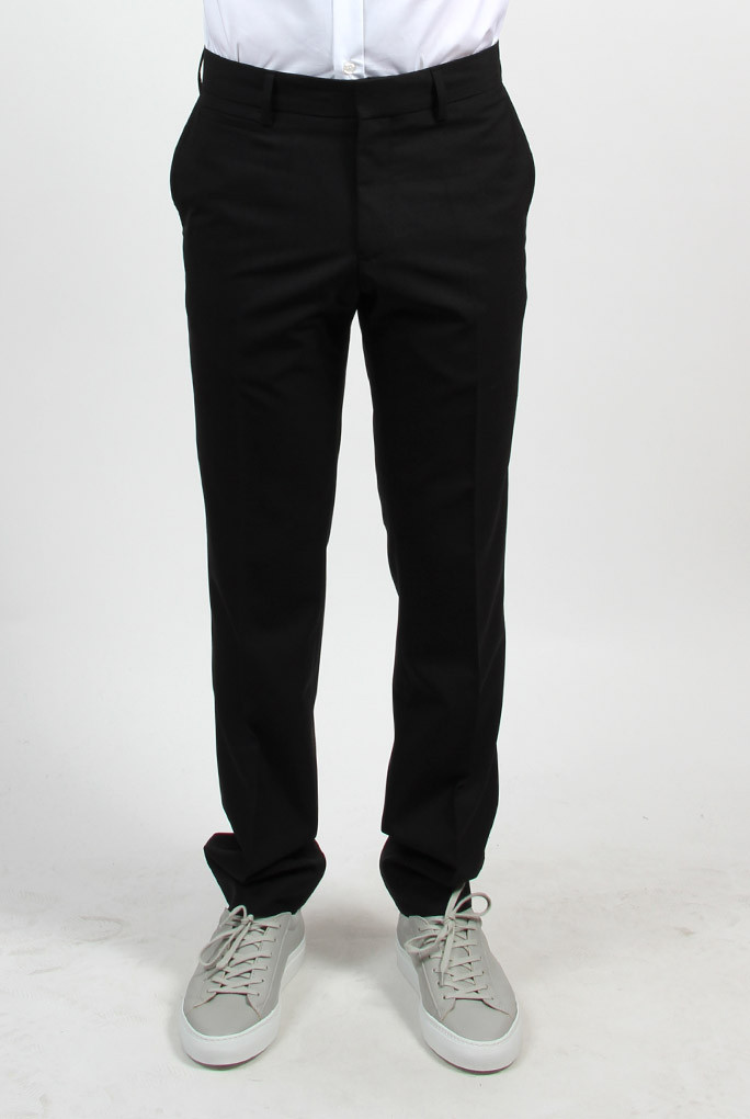 PANTALON FILIPPA K NOIR M. CHRISTIAN COOL WOOL SLACKS BLACK 18021-1433